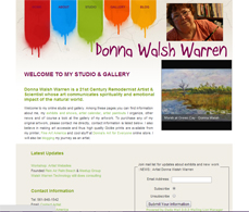 Artist Website for Donna Walsh Warren
