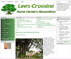 Web site for Home Owners Association