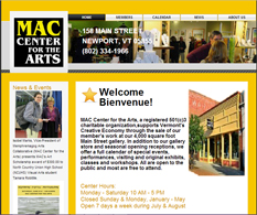 Artist Website for MAC Center for the Arts