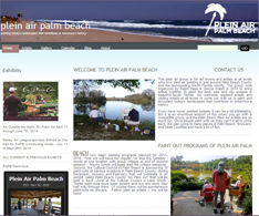 Artist Website for Plein Air Palm  Beach